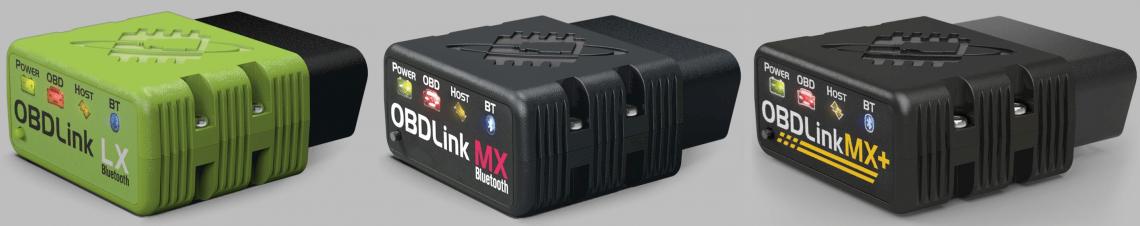 OBDLink MX, OBDLink MX+ und LX Adapter